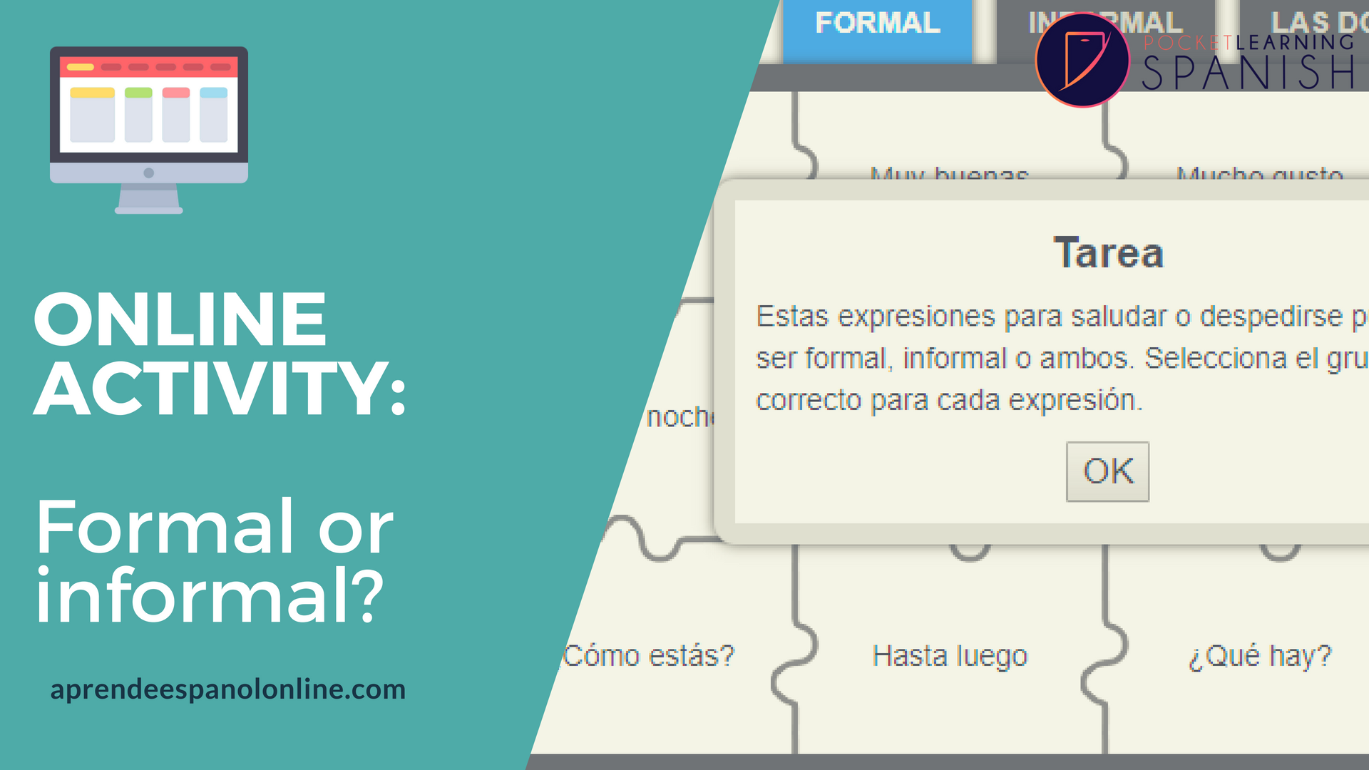 fomal way to say hello in Spanish