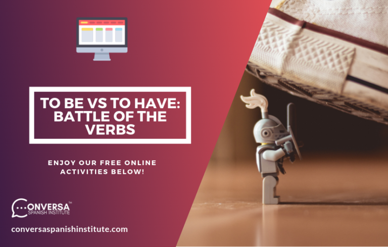 CONVERSA To Be vs To Have- Battle of the Verbs cover