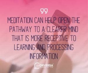 CONVERSA Need to improve your focus? Here are 3 ways meditation can help 2
